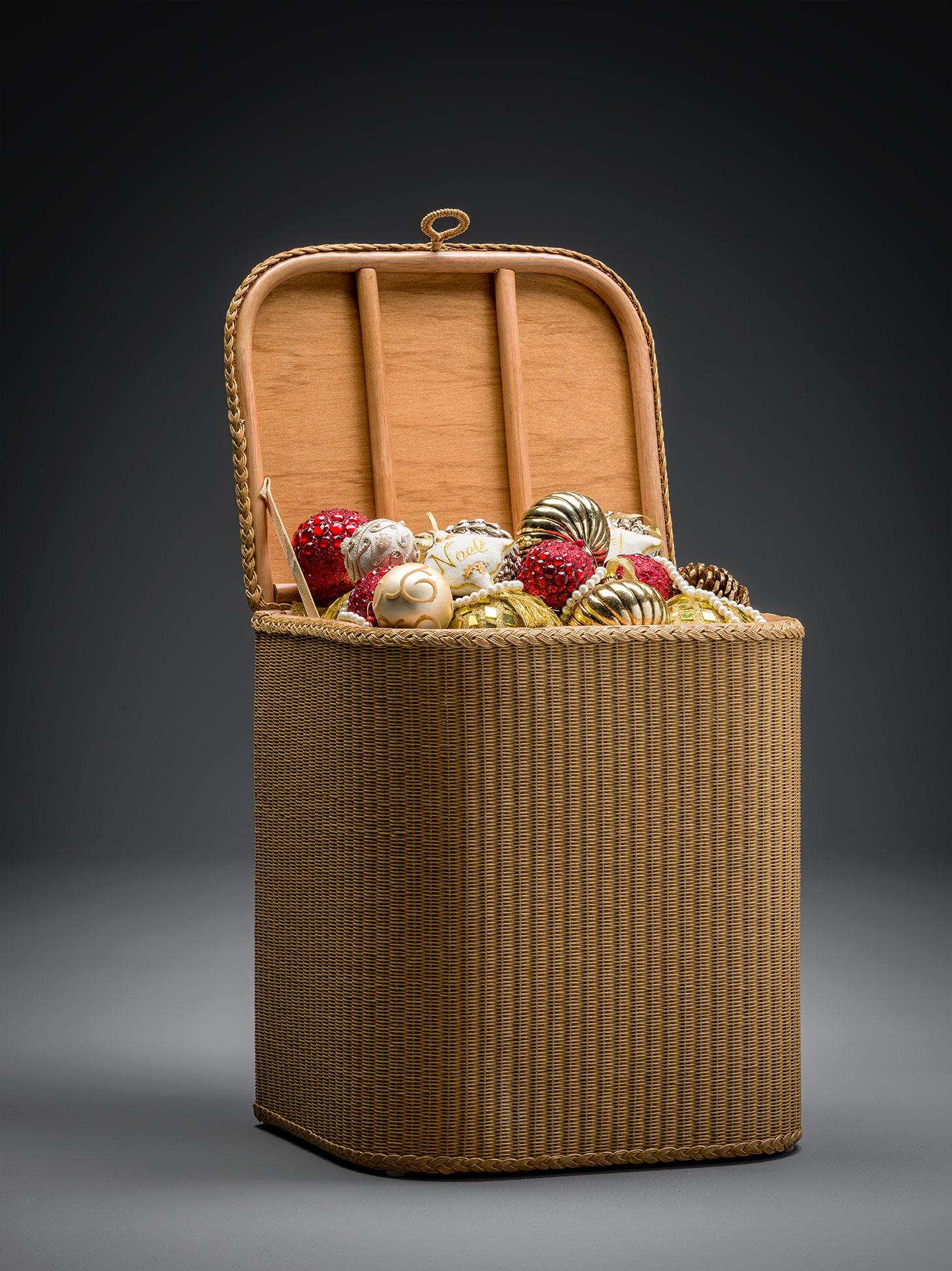 Lloyd Loom Linen Baskets