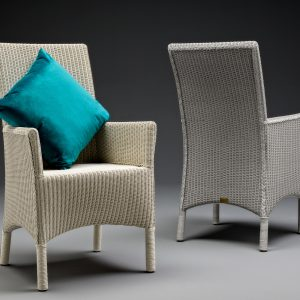 Lloyd Loom Dining Chairs