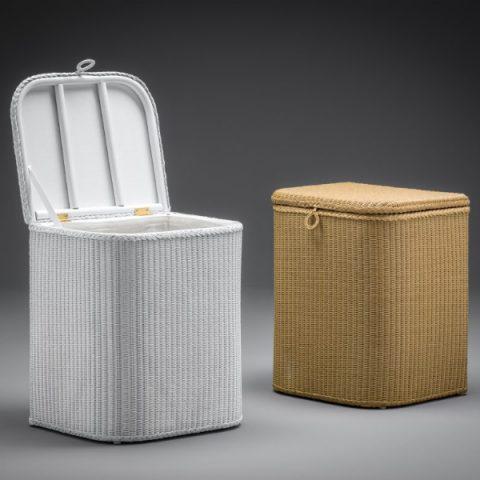Lloyd Loom Linen Baskets & Ottoman