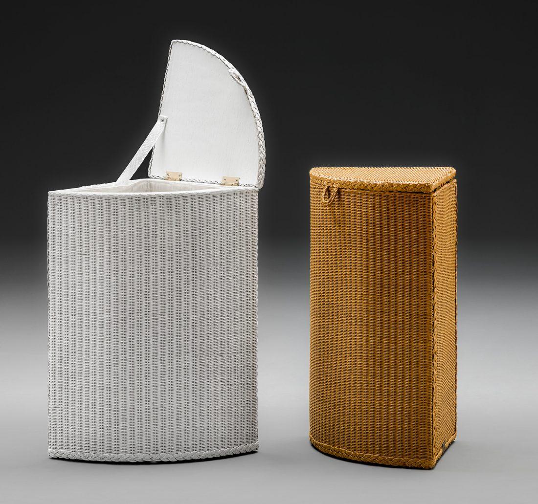 Lloyd Loom Corner Linen Basket Range
