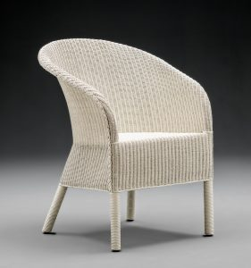 Lloyd Loom Chairs - The Henley Range - Soho White