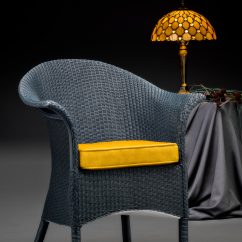 Lloyd Loom Limited Edition Heritage Chair In The Stunning Westminster Blue