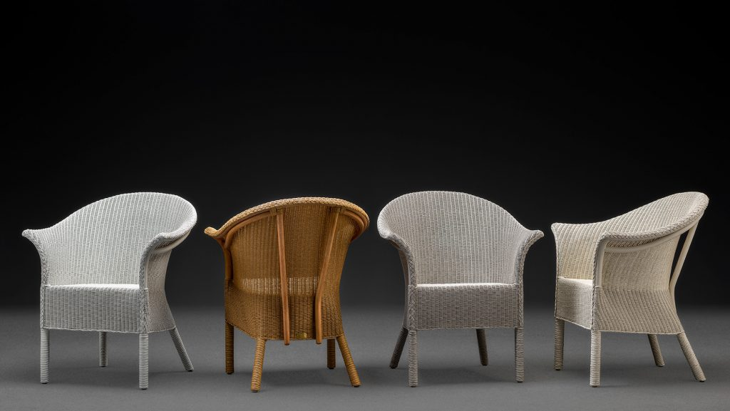 Selection Of Lloyd Loom Handmade Chairs