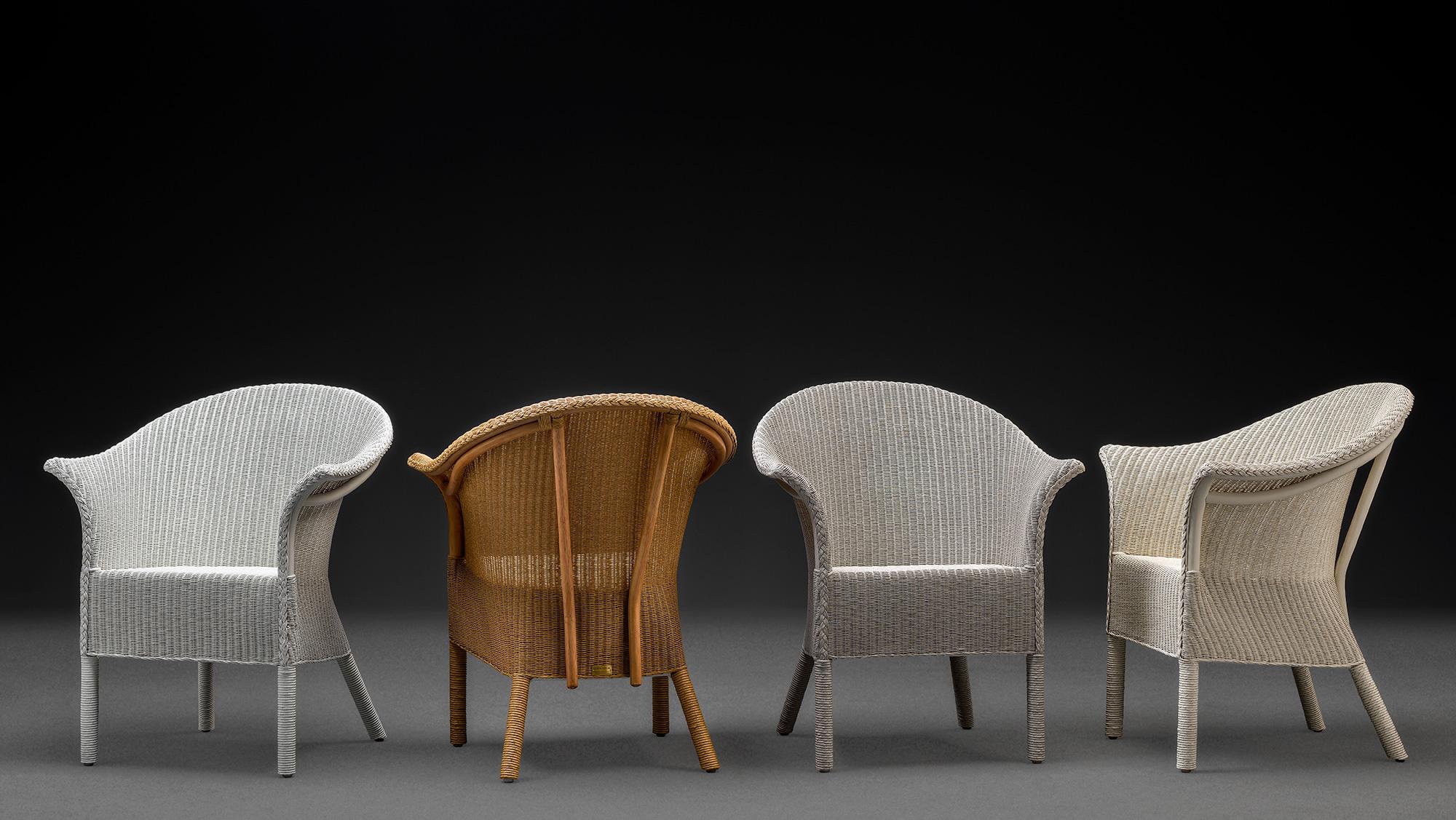 Selection Of Lloyd Loom Handmade Chairs