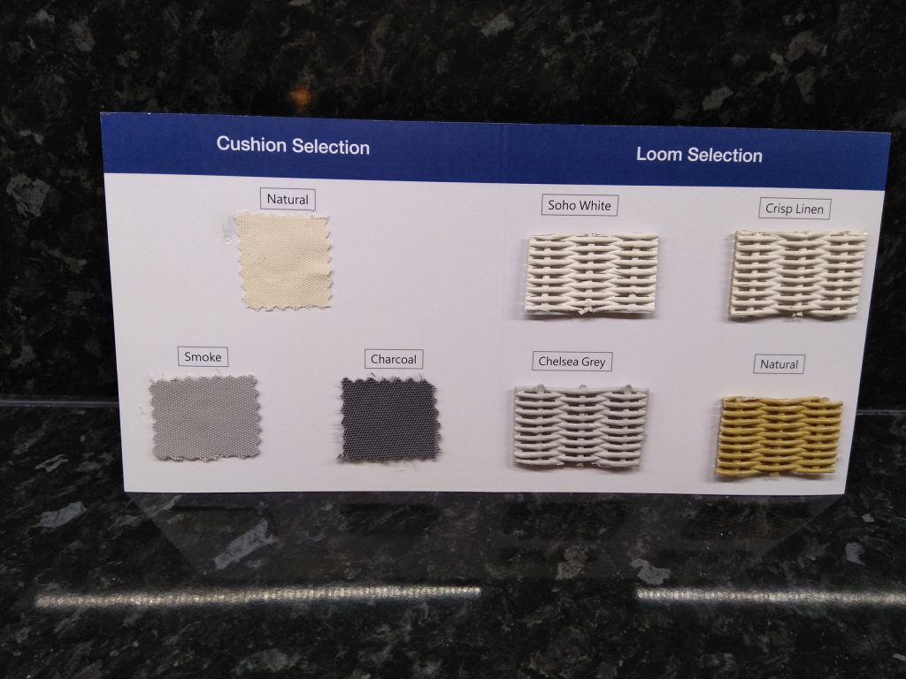 Lloyd Loom Furniture Colour Swatch Samples