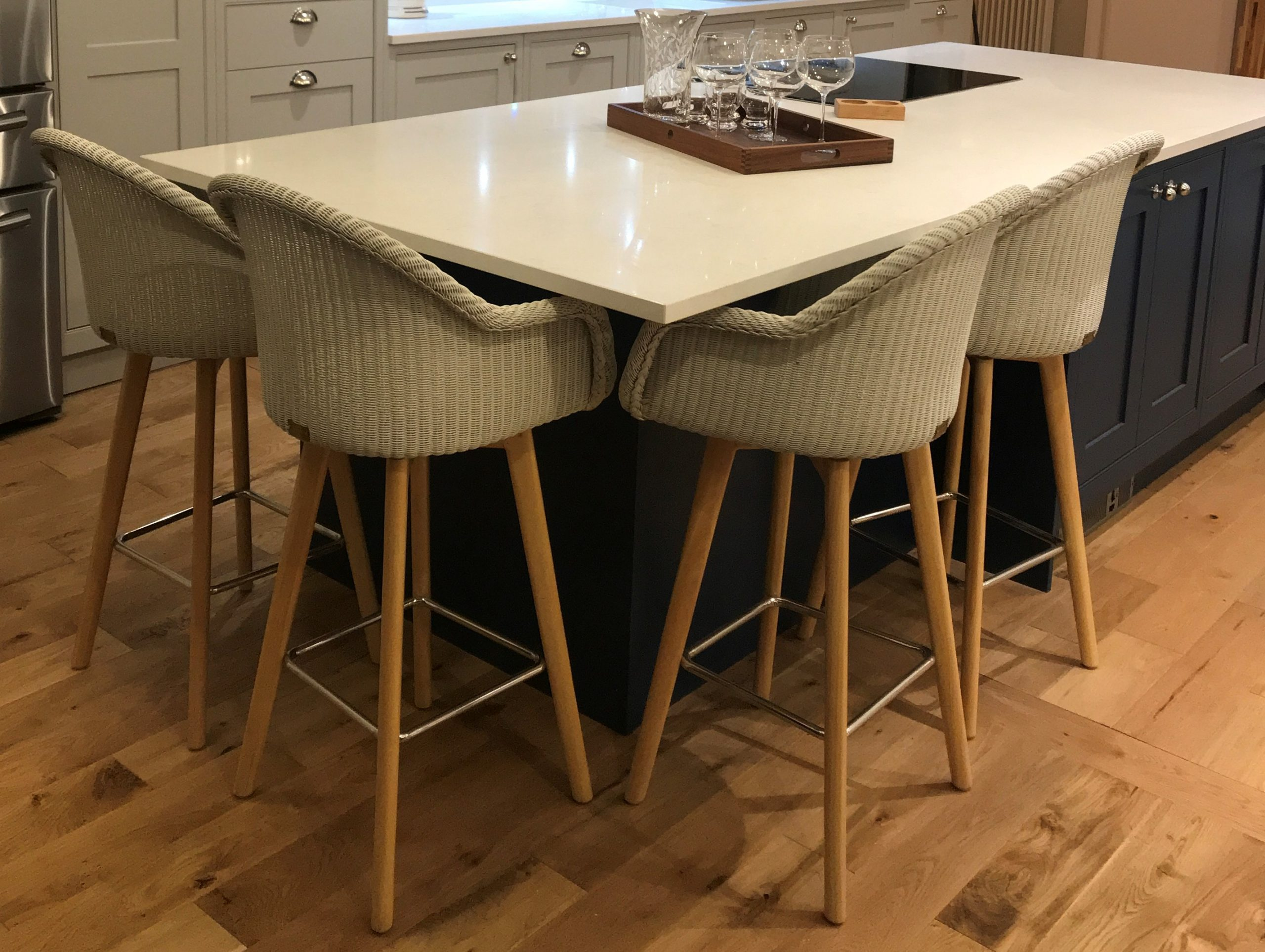 Carnaby Lloyd Loom Bar Chair