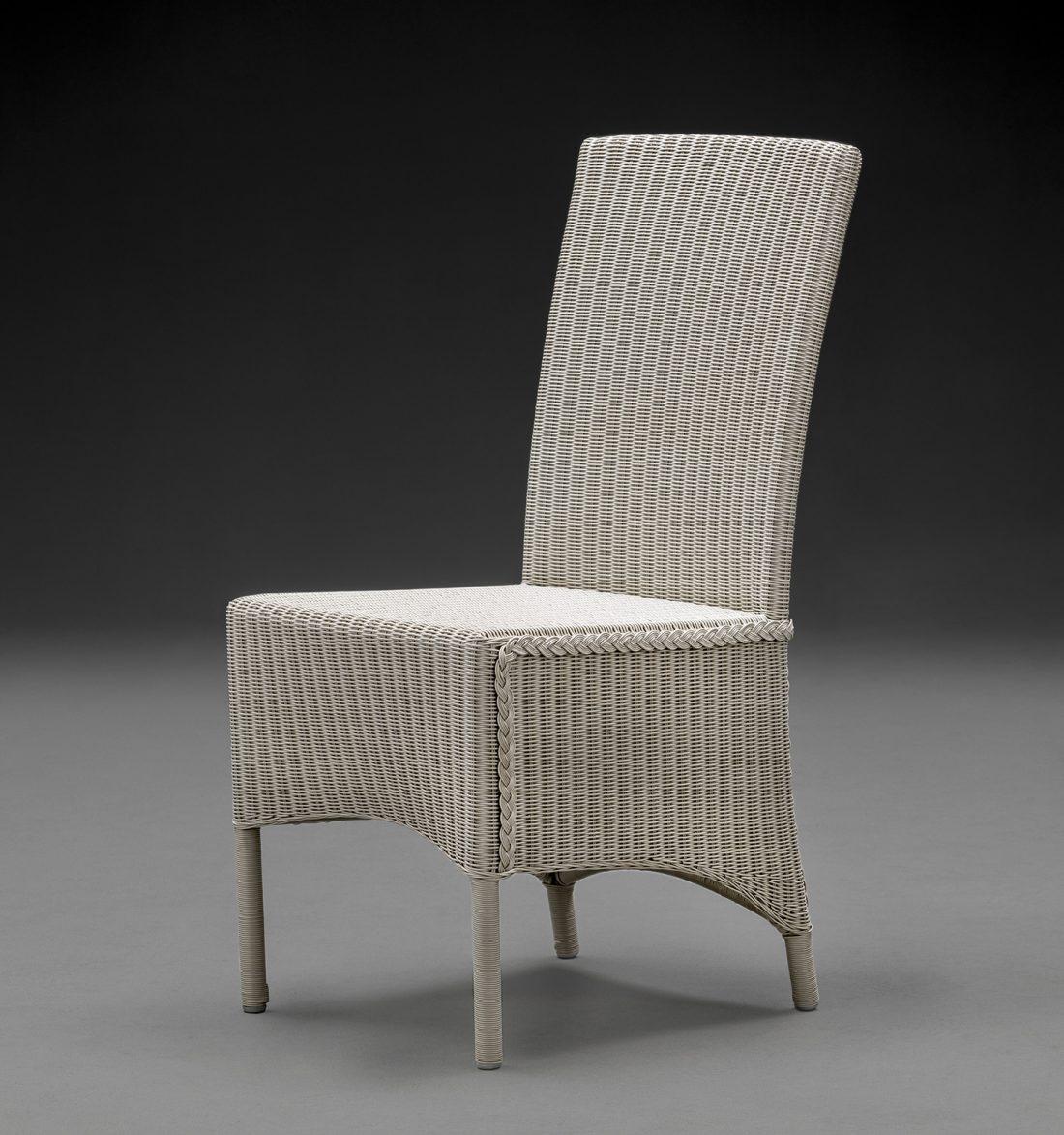 Lloyd Loom Parabola Chelsea Grey Arm Chair