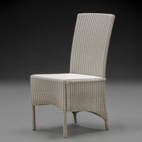 Lloyd Loom Parabola Chelsea Grey Arm Chair