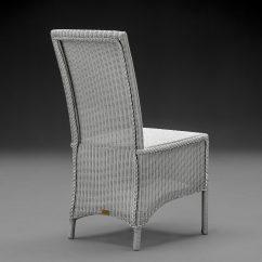 Lloyd Loom Parabola Arm Chair Chelsea Grey
